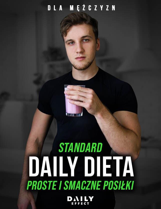 DAILY DIETA - DLA MĘŻCZYZN